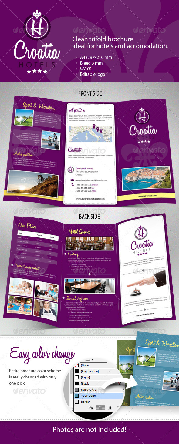 Zombie geography 9 english geography miss skalski for Hotel brochure templates free download